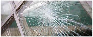 St Albans Smashed Glass